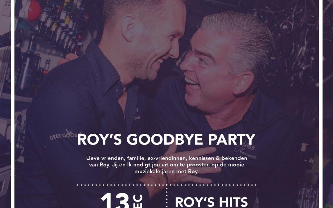 Roy's Goodbye Party